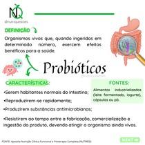 Probióticos - Definição e Características