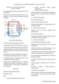 HEMODINÂMICA E DISTRIBUIÇÃO DO FLUXO SANGUÍNEO - FISIOLOGIA