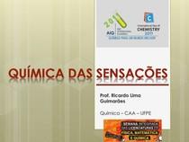 Livro - QUÍMICA DAS SENSAÇÕES - GUIMARÃES