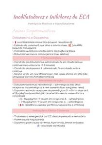 Inodilatadores e Inibidores da ECA