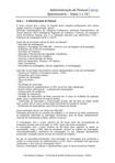 Questionário Aulas 1 a 10 Administração de Pessoal