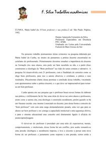 CUNHA_ resumo_ Bom professor grupo1