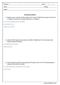 Situacoes Problema De Matematica 4º Ou 5º Ano Resposta Didatica