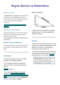Regras Básicas na Matemática (2)