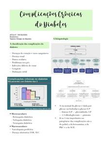 Aula - Complicações Crônicas do Diabetes (endócrino)