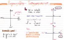 Resumo - equação trigonométrica (ENEM; VUNESP; FUVEST)
