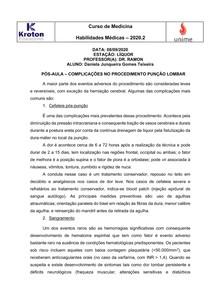 ATIVIDADE NEUROLOGIA - Daniela Junqueira Gomes Teixeira