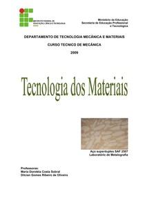 Tecnologia dos Materiais - Ciência dos Materiais