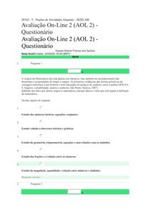 AOL 2 ATUARIAIS