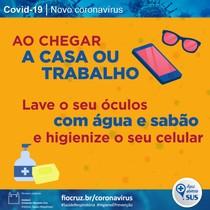 Higiene é prevenção COVID-19