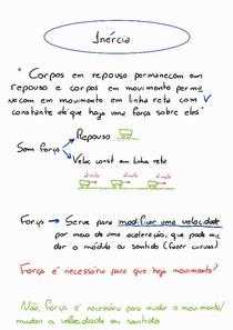 Dinâmica - 1 Lei de Newton