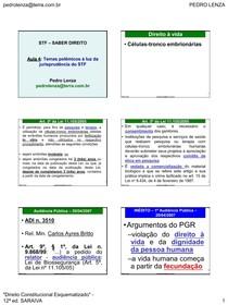 Direito Constitucional - Temas Polemicos