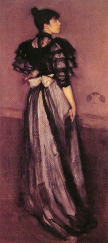 James Mcneill Whistler - Mother of pearl and silver - The Andalusian