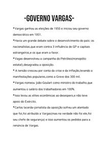 -Governo Vargas-