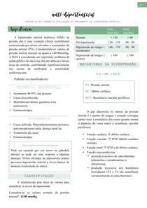 Anti-hipertensivos (hipertensão, classificação, diuréticos, vasodilatadores e IECA) - Farmacologia