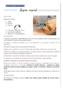 Higiene corporal (técnicas de enfermagem)