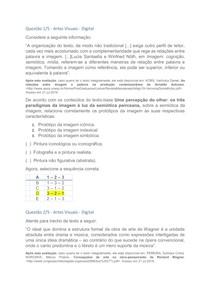 APOL ARTES VISUAIS - DIGITAL, NOTA 100