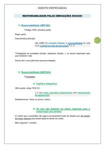DIREITO EMPRESARIAL 2º bim. - 6º período