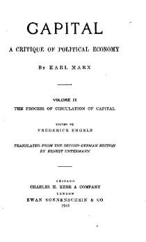 Capital  A Critique of Political Economy   Volume II