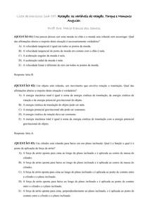 Lista UA 7_Rotação as variáveis de rotação_Torque e Momento Angular