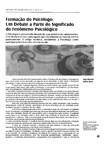 Formação do psicólogo um debate a partir do fenomeno psicologico_20130329185813