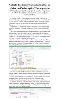 Cálculo 2: a importância das funções de várias variáveis e aplicação em projetos