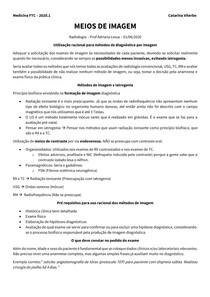 MEIOS DE IMAGEM - TRANSCRIÇÃO R