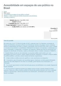 Acessibilidade em espaços de uso público no Brasil 1