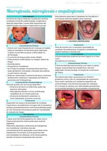 Macroglossia, Microglossia e Anquiloglossia