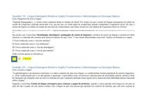 Apol Nota 100 Língua Estrangeira ( Inglês)