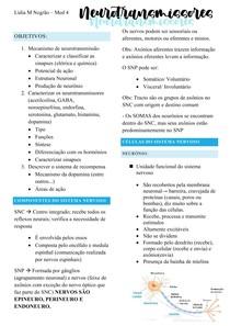 Neurotransmissores - P1
