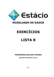 LISTA 8
