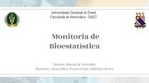 1º Monitoria de Bioestatística