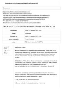 AV1 Psicologia do Comportamneto Organizacional (1)