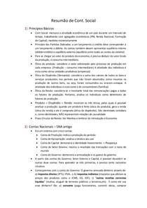 Resumo de Cont Social (Vitor Agrella)