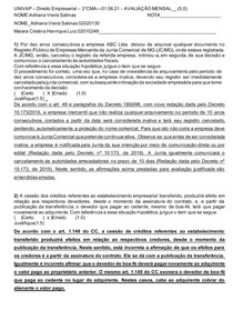 3 CMA___01 06 21____AVALIAÇÃO__MENSAL___2º Bimestre__Empresarial__ Respostas 1