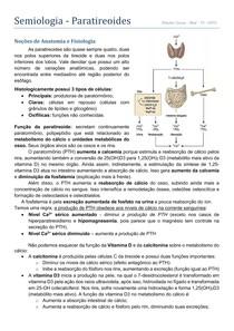 Semiologia - Paratireoides