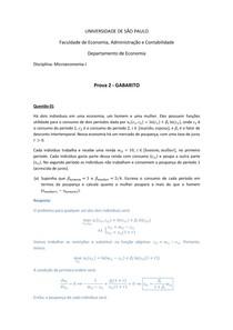 P2 - Gabarito final