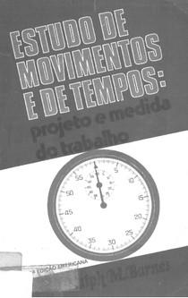 Estudo de tempos e movimentos
