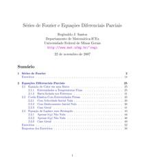 Séries de Fourier e Equações Diferenciais Parciais