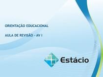 Aula 1 a 5 - Orientação educacional
