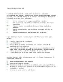 Exercício de revisão AV1