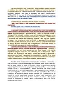redação nota mil (modelo ENEM)