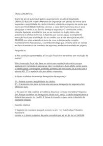 DIREITO TRIBUTÁRIO II - CASO CONCRETO 2