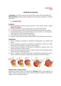 URO | NEFRO - Urgências e traumas urológicos