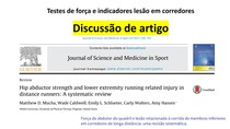 Discussão de artigo: Hip abductor strength and lower extremity running injury in distance runners: a systematic review