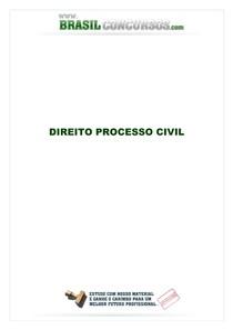 Direito Processo Civil