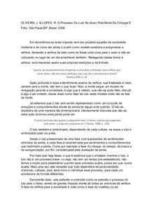 Fichamento VI- LUTO NO IDOSO