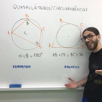 Pacotinho para Quadriláteros Inscritos ou Circunscritos em uma Circunferência
