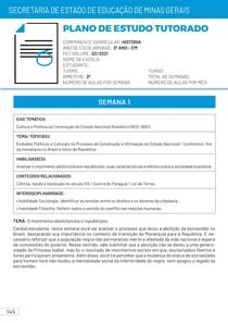 Correção PET 2 História 2021 3º Ano Ensino Médio PDF